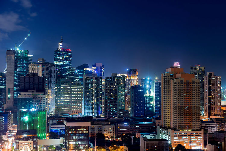 Manila city at night ASIA Makati City Makati City, Philippines Manila Manila, Philippines Architecture Building Exterior Built Structure City City Life Cityscape Financial District  Illuminated Makati Modern Night Office Outdoors Residential District Skyscraper Tall - High Tower Urban Skyline
