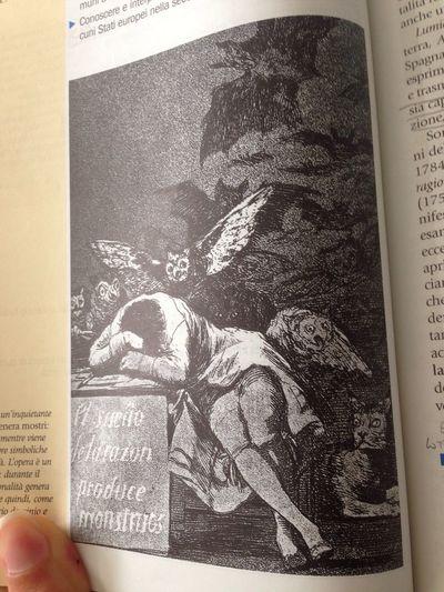 Il sonno della ragione genera mostri... Art Illuminist Filosofeggiare Graziepi