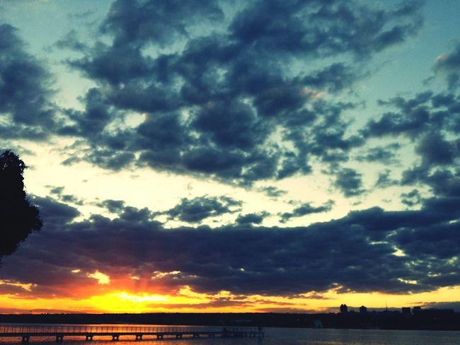 Sky Sky Porn Céu Sunset Sol Lake Brasília Clouds Nuvens Brazil
