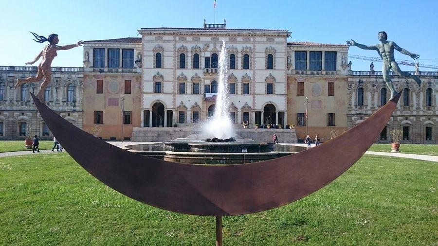 In Piazzola Sul Brenta Villa Contarini Architecture_collection Architectural Detail