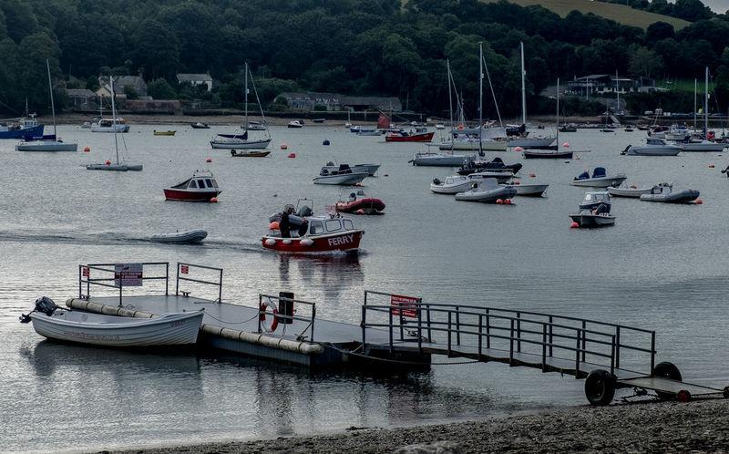 Ferry, Helford Passage, Cornwall Boat Helford Helfordriver Fujfilmxt10 Ferry Crossing Ferry Boat Ferry