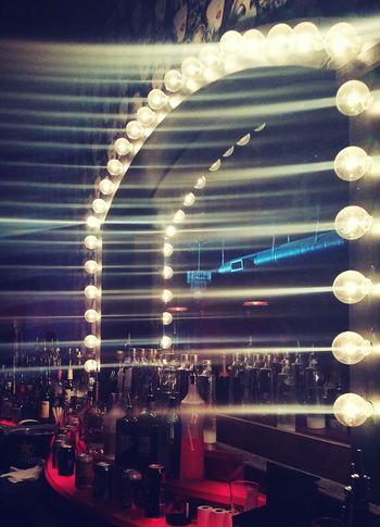 Work Barlife Nightphotography Mirror Brightlights Austin Texas 6thstreet