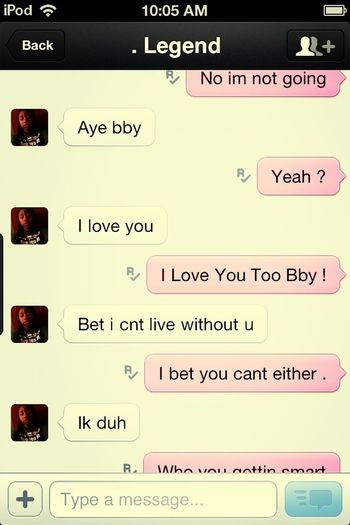 I Love This Freakinnn Girl &&'ndd Swear She Can Make Myy Day .