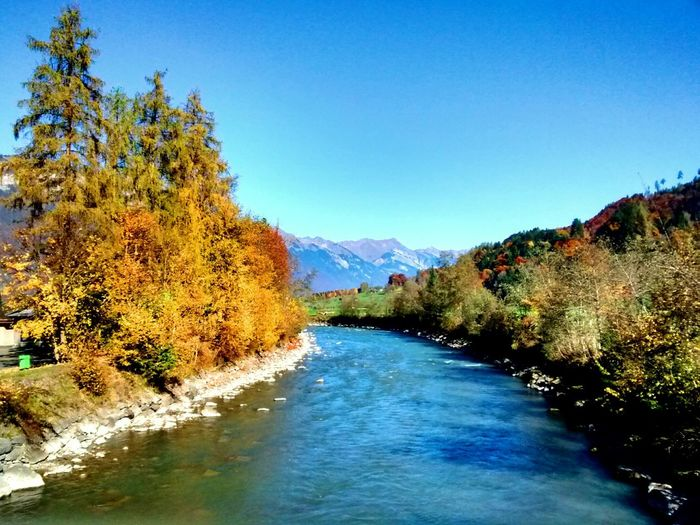 Nature_collection EyeEm Nature Lover Water_collection Taking Photos Landscape_Collection Autumn Autumn Colors Blue Sky