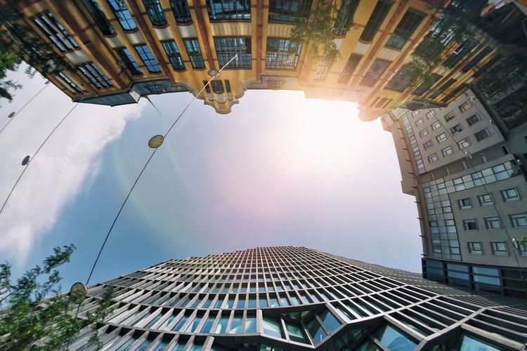 Architecture Fisheye Wide Shot Lookingup Architecture_collection The Week On EyeEem Modern Architecture Industrial