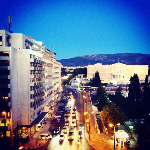 Greek Parliament Syntagma Greece Athens City Showcase: February