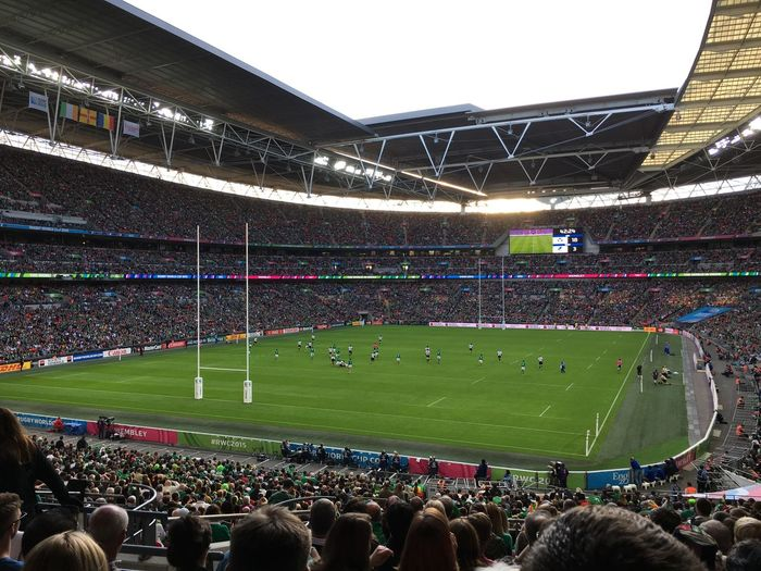 Rugby World Cup 2015 Wembley Stadium Rugby Worldcup Ireland Romania Stadium