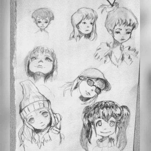 Charcoal Anime Illustration Art, Drawing, Creativity Karakalem Drawing Sketch ıllustrator Art Portrait Doodle