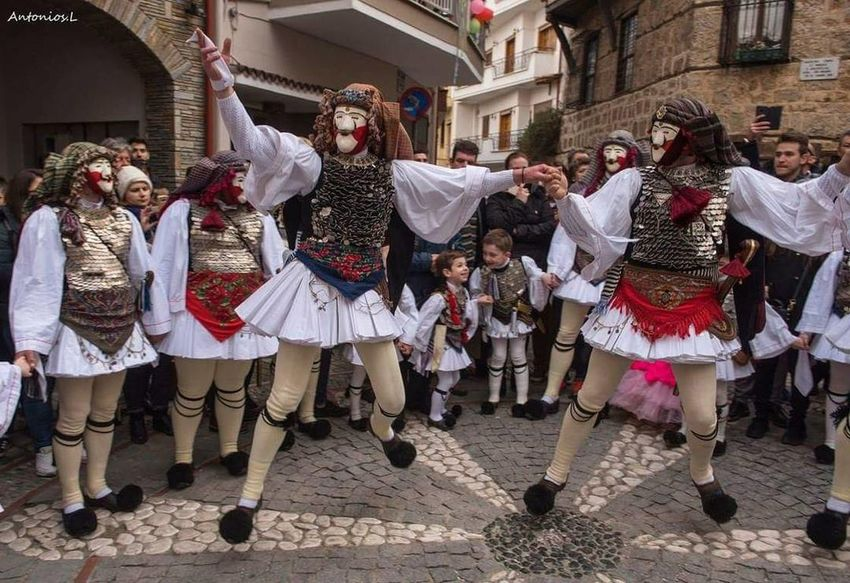 GREECE ♥♥ Carnival Dancing People Arts Culture And Entertainment Celebration Fun Child Large Group Of People