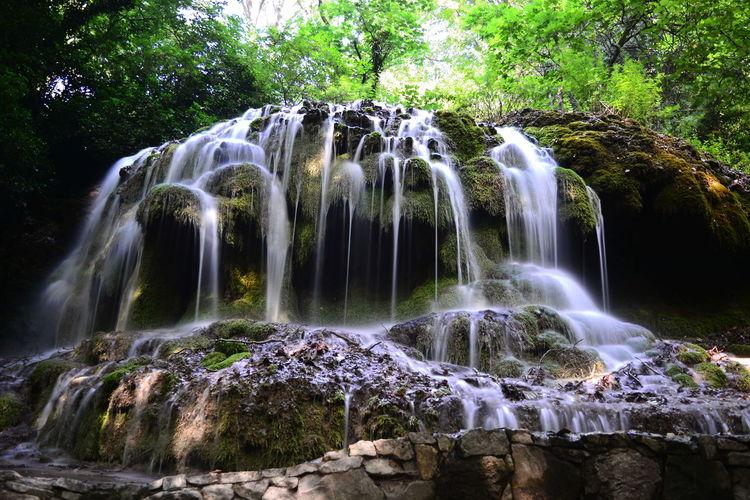 Nature France🇫🇷 Landscape_Collection Nature_collection Landscape Water Waterfall Tree Motion Long Exposure Forest