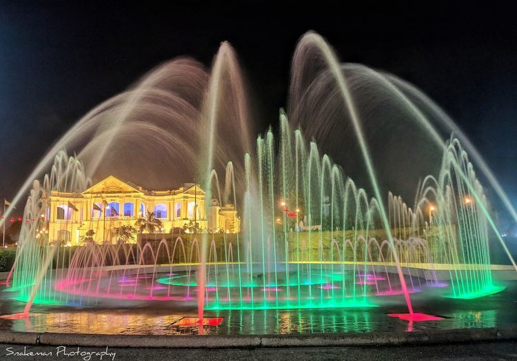 Fountain #EyeEmNewHere #EyeEm #fountain #essentials #malaysiaphotographer #photography #photographer #nightshot #Lowlight #longexposure #colorful #ipoh #Perak, #Malaysia #landscape #nature #photography