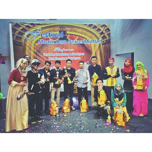 Throwback semalam. The winners and contestant. They've an awesome voice. Style AimHighStayFly TheMobMovement Polisas
