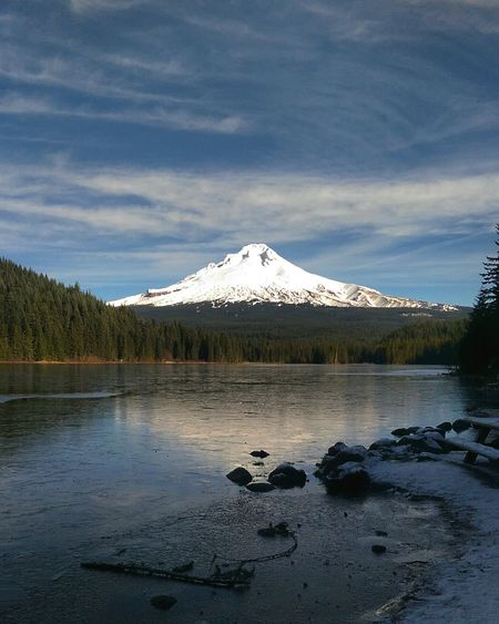 MtHoodOregon mthoodnationalforest Trillium Lake Oregon