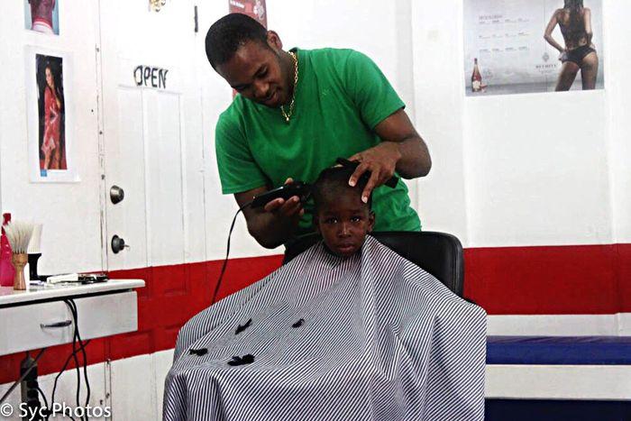 Fresh Haircut Kid Barbershop