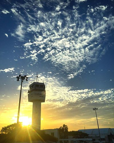 Cozumel Mexico Mexico De Mis Amores Tower Airportphotography Airpot Pilot Sunset_collection Ocean View Myhome
