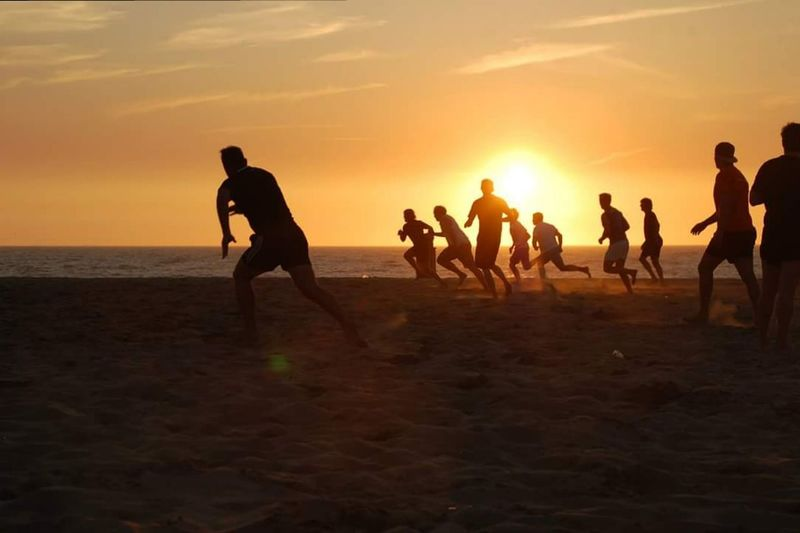Rugby Summer Rugby TIME Rugby Family Rugby Player Sea Sunset Beach Play Time Rugbyfan Touchrugby Beachrugby Beach Photography Beach View Sun Sand