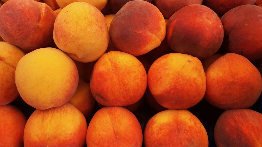 Peaches at the