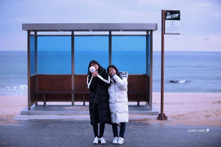 Young Women Sea