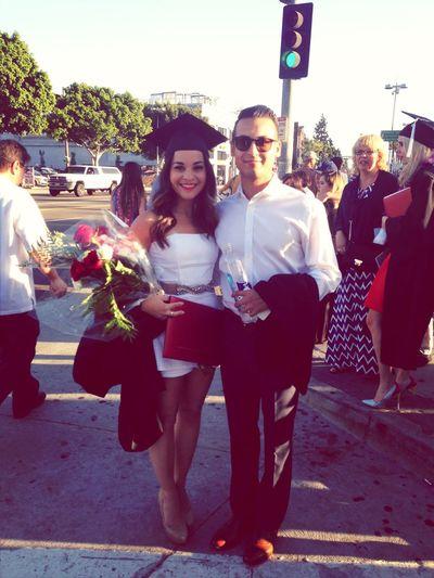 graduation. Fidm La Staples Center My Love