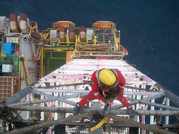 My work, industrial climbing platform Petrobras!!!