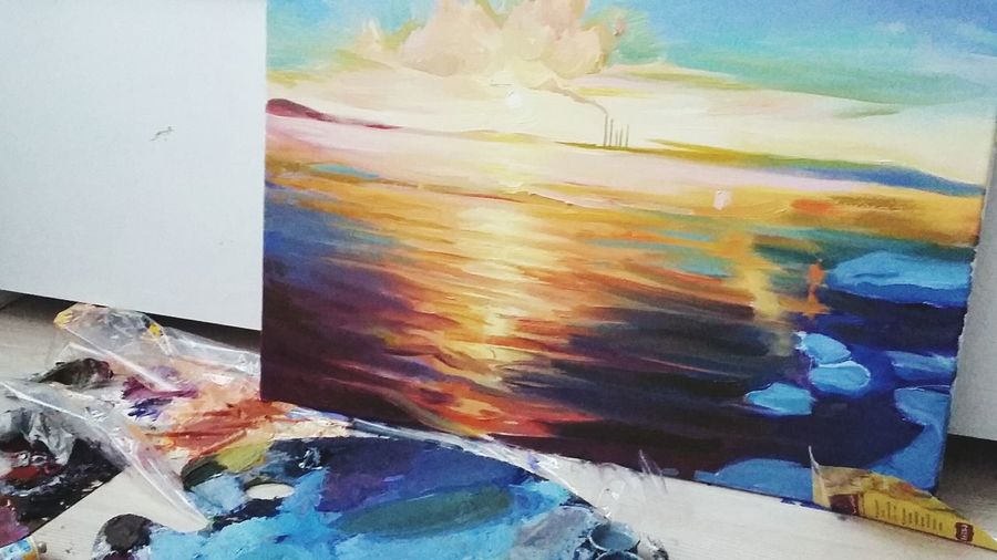 ArtWork Multi Colored No People Sky Sunny Colour Of Life
