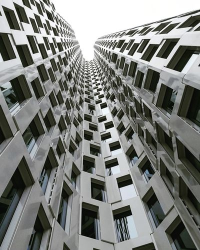 Architecture Building Exterior Skyscraper Business Finance And Industry City Modern Built Structure Window Residential Building Downtown District Building - Activity Cityscape Urban Skyline No People Outdoors Apartment Day Ghetto Sky Discover Berlin