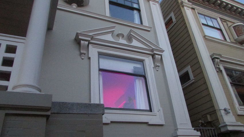 S. F. Sanfrancisco Bayarea Pastel Pink Colour Your Horizn Architecture Multi Colored Built Structure Travel Destinations No People Building Exterior Politics And Government