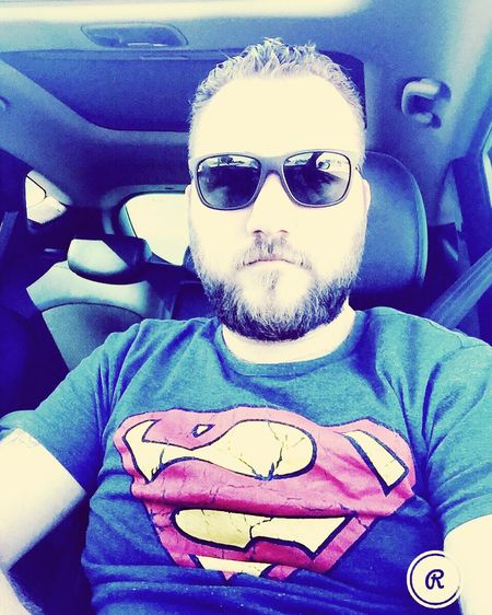 Sunglasses Front View Looking At Camera Young Men Car One Person Beard First Eyeem Photo