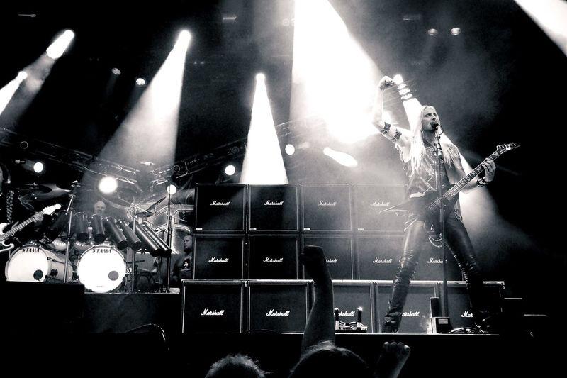 .::Hammerfall::. MADE IN SWEDEN Live Music Marshall Amplification Hammerfall