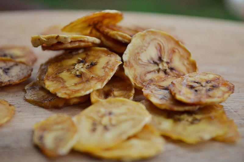Banana Fruity Ready-to-eat Close-up Healthy Eating Food And Drink Dehydrated Fruit Dried Dried Banana Snacking