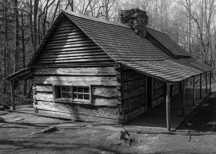 Architecture Exceptional Photographs Log Cabin Cabin Tree Outdoors Mountain Black And White Blackandwhite Monochrome Monochrome Photography EyeEm Best Shots Instagood IPhoneography Woods In The Forest House Home Home Sweet Home Building Exterior Light And Shadow Light Welcome To Black BYOPaper!