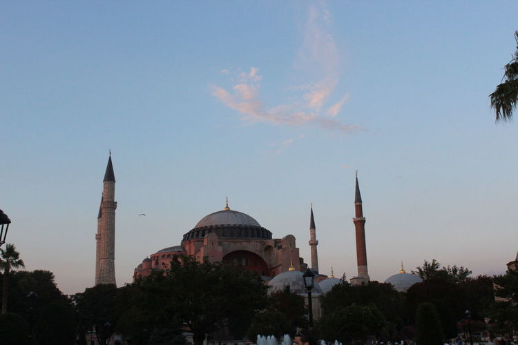 Ayasofyacamii Business Finance And Industry Travel Destinations Tree Architecture Religion Dome Sunset Sky Politics And Government No People Outdoors Day EyeEm EyeEm Gallery Canon 1300d Istanbul Turkey EyeEm EyeEm Gallery Eyeemphotography