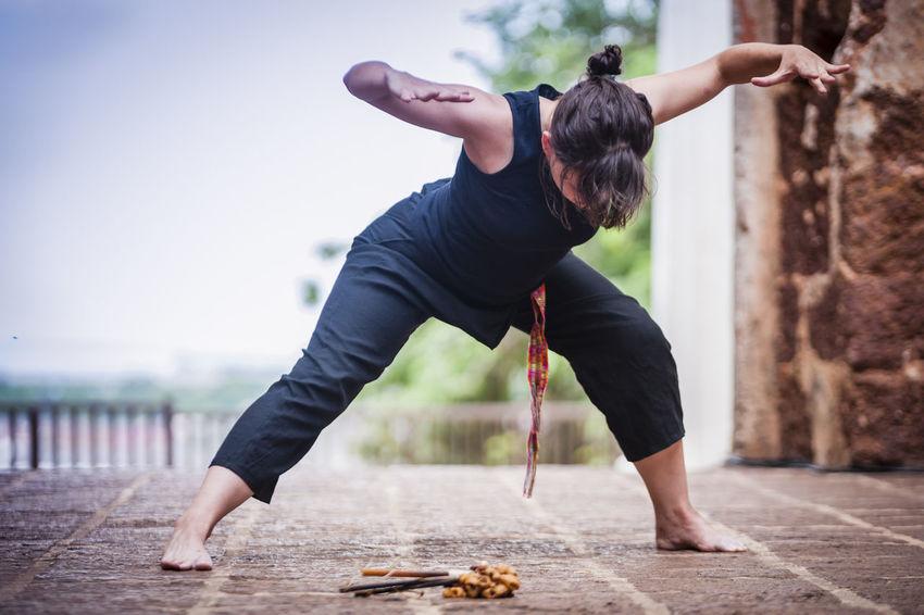 Art Artists Choreographers Choreography Dancers Dancing Entertainment Historical Sites Human Melaka Movements Outdoors People Performers Performing Arts Ruins