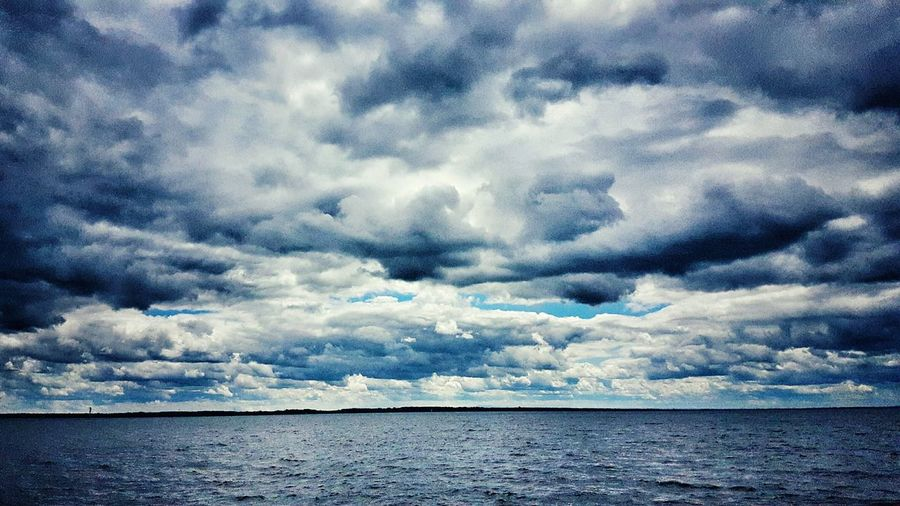 Clouds Sky Water Weather Contrast