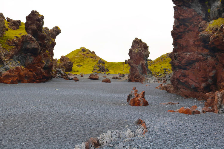 Djúpalónssandur Beach Iceland Beauty In Nature Day Geology Iceland_collection Landscape Nature No People Outdoors Physical Geography Rock - Object Rock Formation Scenics Tranquil Scene Tranquility Travel Destinations