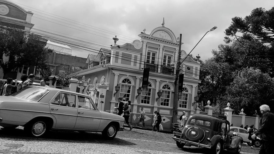 Car Land Vehicle Transportation Mode Of Transport Cloud - Sky Architecture Sky Outdoors Day People Building Exterior Adult Tree City Politics And Government Adults Only The Secret Spaces EyeEmNewHere Brasil ♥ Curitibando CuritibaSpace Curitiba Arquitetura Colonial Arquitectura,monumentos Arquitecture And Art Art Is Everywhere