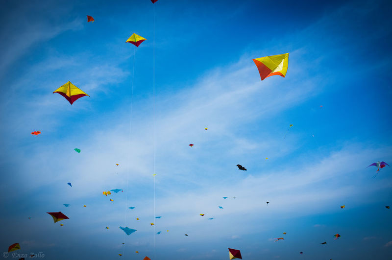 Happiness Kite Aquilone Bluesky Child Fujifilm_xseries Good Times Play Sky