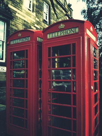 Edinburgh Phonecell Class Trip Schotland Uk