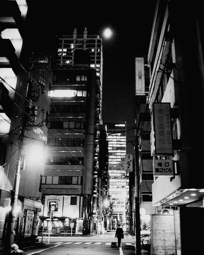 Tokyo Tokyo Tokyo,Japan Tokyo Street Photography Night Illuminated Architecture City Skyscraper Outdoors People Sky Cityscape Cityscape Monochrome World Black And White Collection  Blackandwhiteonly Blackandwhite Photography Blackandwhitephotos Blackandwhite City Blackandwhitephoto