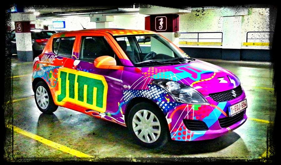 Cars Color At Antwerpen