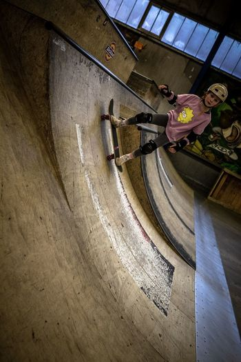 Kids Skate Ramp