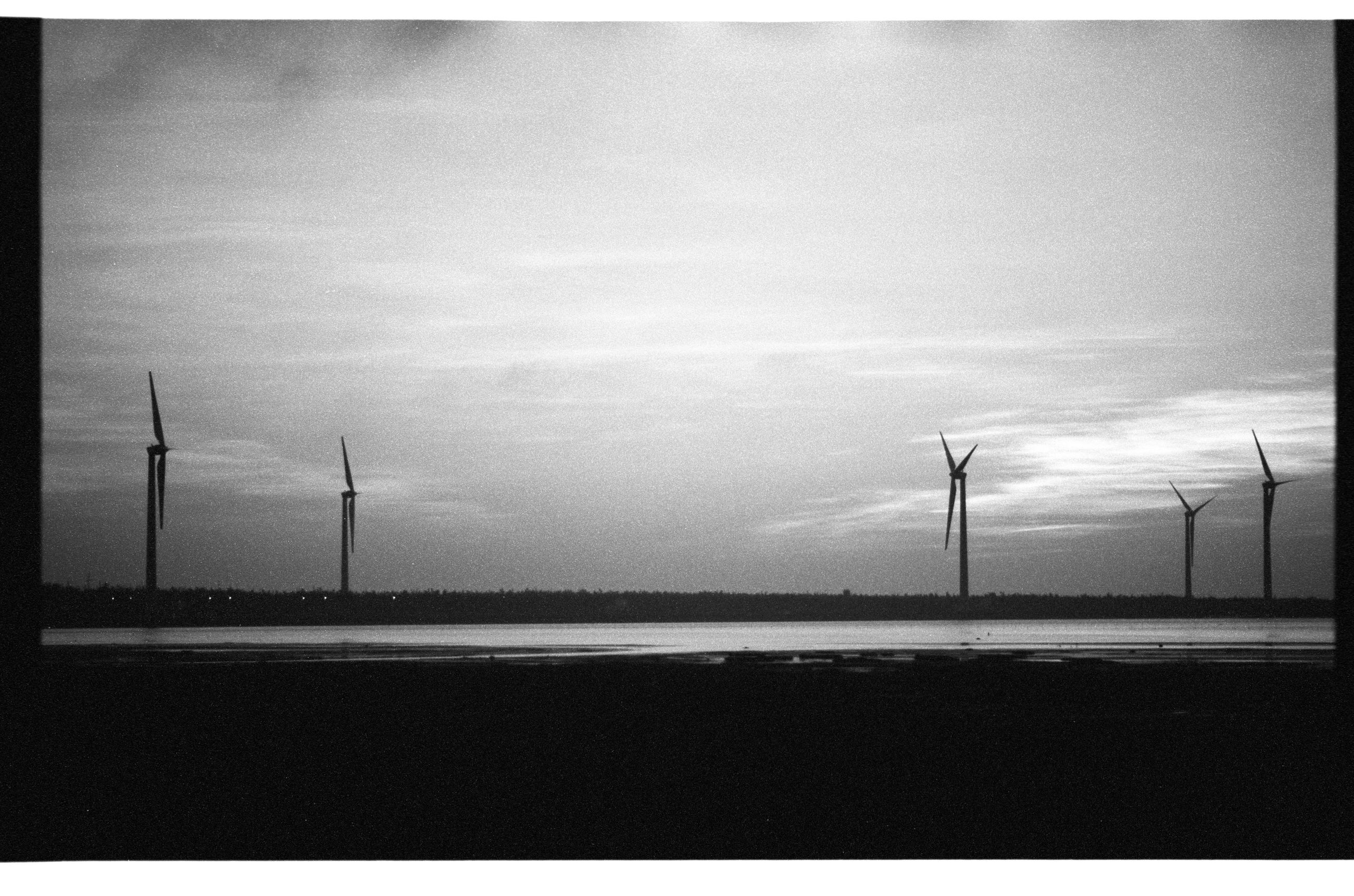 day, no people, sky, environmental conservation, nature, road, outdoors, alternative energy