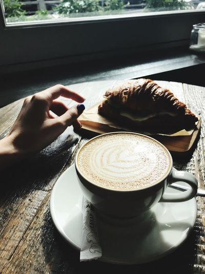Another view of the same beauty Breakfast Breakfast ♥ Coffee Coffee - Drink Coffee Time Coffee Break Food And Drink Human Hand Drink Hand Mug Cup Coffee Coffee - Drink Coffee Cup One Person Refreshment Table Real People Human Body Part Lifestyles Unrecognizable Person Food