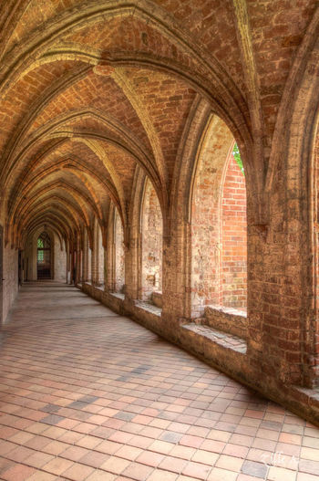 Brandenburg Geschichte Kloster Wandelgang Alt Arch Architecture Barnimerland Building Exterior Built Structure Chorin City Day History Indoors  No People The Way Forward
