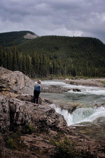 Waterfall Woman