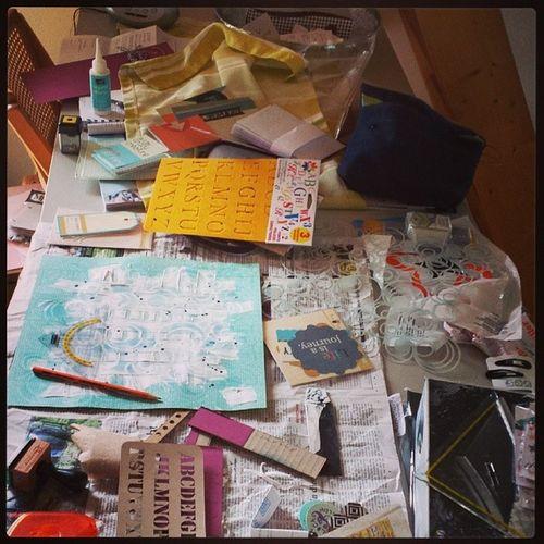 Kreativeschaos Kreativesich BeingCreative Scrapbooking mixedmedia 7sachen spring2014 mai twinklinstar wasserburg inn stampinup oberbayern neueheimat