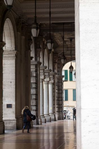 Adult Architectural Column Architecture Building Exterior Built Structure Day History Indoors  Men People Person Real People Travel Destinations Vertical