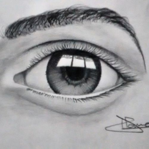 Love to draw Eyes 2hours work Like4likes Tags4tags Instadrawing