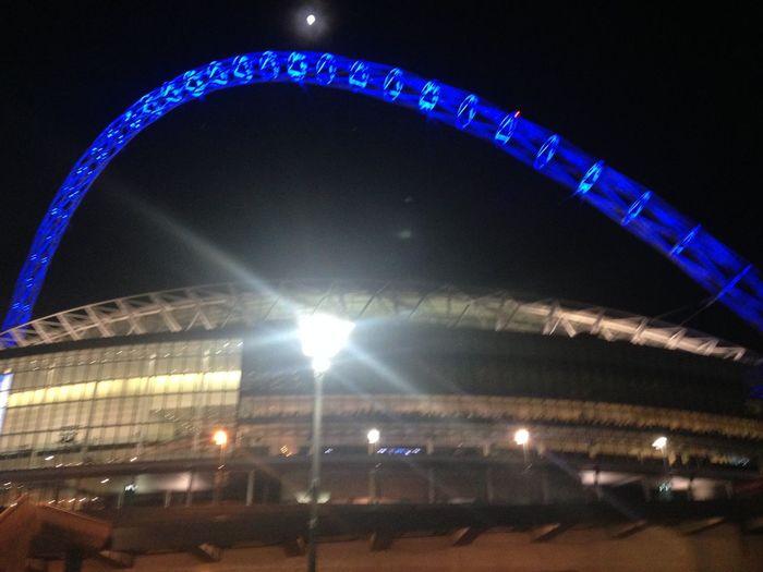 Wembley Wembley Stadium Wembley Blue London Chelsea Won