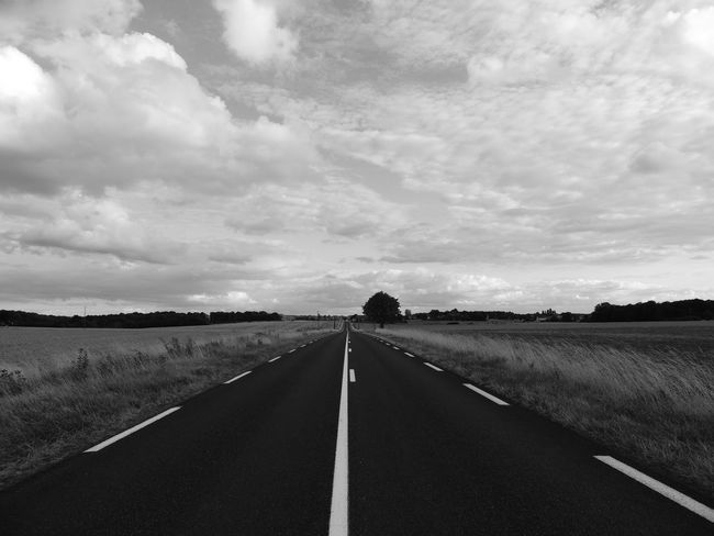 Loire Touraine Cloud - Sky Country Diminishing Perspective Direction Dividing Line Environment Field Land Landscape Long Marking Nature No People Outdoors Road Road Marking Sign Sky Symbol The Way Forward Tranquil Scene Transportation vanishing point A New Beginning